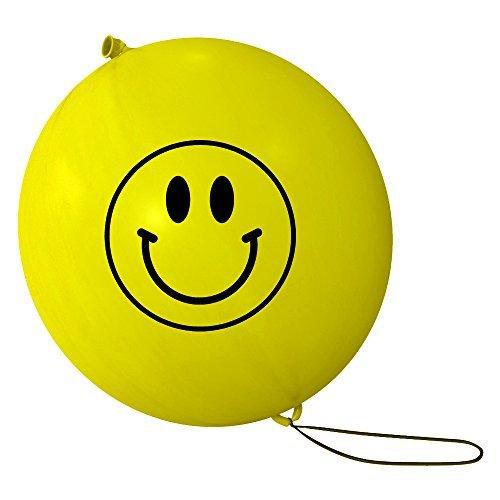 Qualität Große Wert Smiley gelb Henkellocheisen Luftballons (X30)