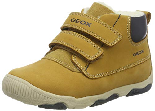 Geox Baby Jungen B New BALU Ankle Boot, Biscuit, 24 EU