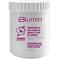 Blumin Mascarilla de Pelo/Mascarilla para el Cabello de Leche de Arroz y Flor de