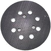 DeWalt DT3600-QZ Plateau de ponçage pour ponceuse orbitale velcro, 8trous, 125mm