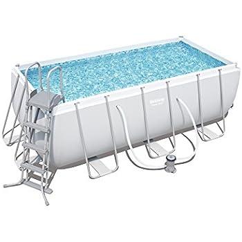Bestway Power Steel Rectangular Swimming Pool 8124 Liters