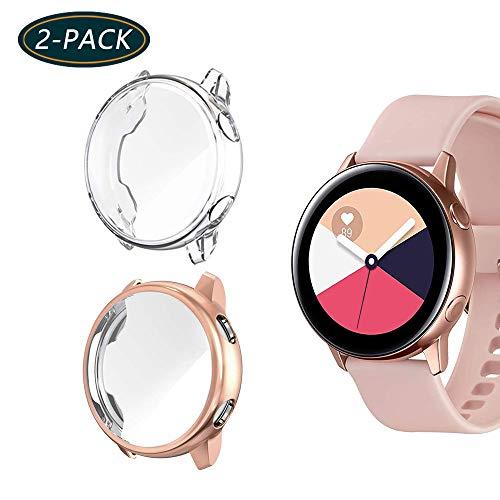 Jvchengxi Funda Protectora Galaxy Watch Active, Cubierta