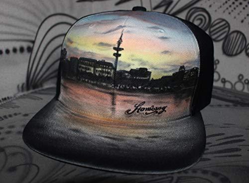 Individuelle Airbrush Graffiti Snapback Cap