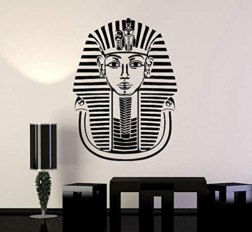 zqyjhkou Der Alte Ägyptische Pharao Bewegliche Wandaufkleber Wohnzimmer Schlafzimmer Vinyl Aufkleber Home Art Decoation Yy227 56x75 cm