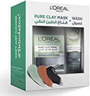 L'Oreal Paris Pure Black Clay Mask & Wash - Detoxifying