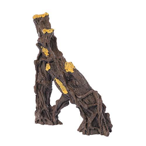 ESden a Shape Reptilien-Äste aus Kunstharz für Aquarien, Klettern, natürliches Treibholz