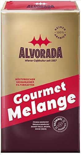 Alvorada Gourmet Melange | Röstfrischer Gemahlener Filterkaffee | vakuumverpackt | 500 g