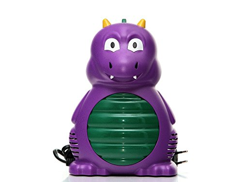 Gess Drache ADMED Inhaliergerät Kinder Inhalator Inhalation Aerosol Vernebler Kompressor Drache