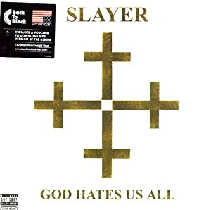 God Hates Us All [Vinyl LP]