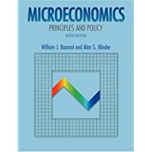 Microeconomics: Principles and Policy with Xtra! Student CD-ROM and InfoTrac College Edition by William J. Baumol (2002-07-01)