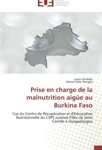 Prise en charge de la malnutrition aigüe au burkina faso