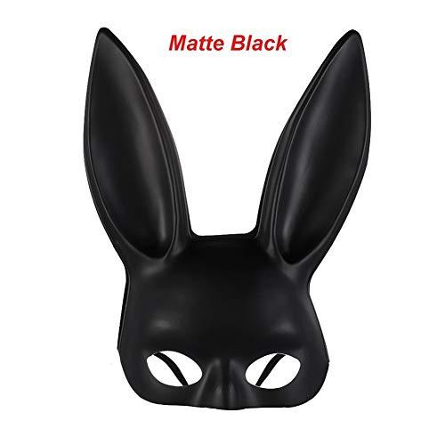 YUNGYE 1 STÜCK Mädchen Cosplay Kostüm Kaninchen Ohren Headwear Frauen Hairband Sexy Stirnband Maskerade Party Stirnband Geschenk (Color : Matte - Weibliche Weiße Kaninchen Kostüm