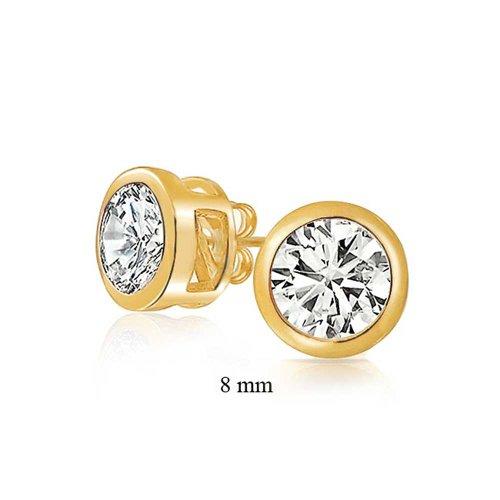 bling-jewelry-juego-de-moldura-oro-vermeil-redondo-cz-hombre-unisex-arete-8mm-eparrago