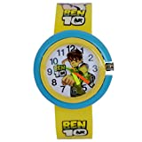 Vitrend Ben-10 Round Dial Yellow (Random color will be sent) New Model Gift Analog Watch - For Boys & Girls
