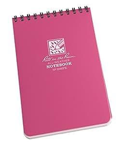 Rite In The Rain - Blocco appunti impermeabile, formato tascabile 15 x 10 cm, 50 fogli, edizione limitata rosa