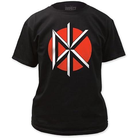 Dead Kennedys - Mens Logo W/ Back Print T-Shirt in