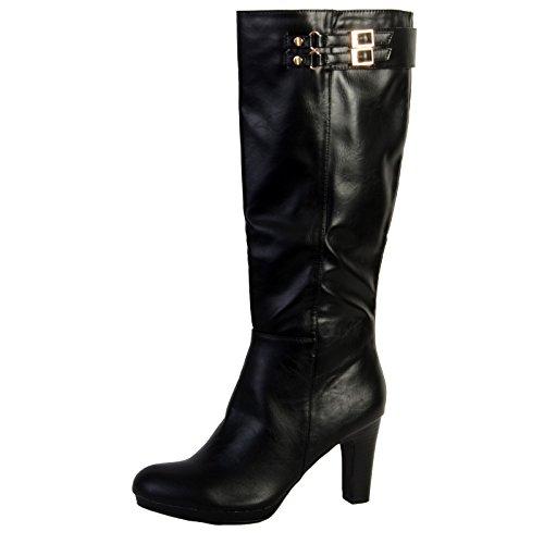 Stiefel Enza Nucci Ql2220 Schwarz Noir