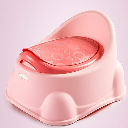 tte Kunststoff PP-Material Vergrößerung Der Anti-Rutsch-Matte Tragbare Anti-Roll-Toilette Geeignet Für Babys Von 1 Bis 7 Jahren,Rosa ()