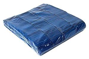 Ohfx Confetti rectangular Color azul oscuro (Rec-AO