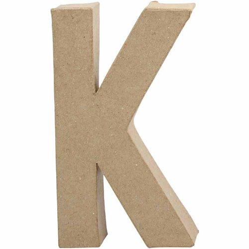 creativ-205-cm-1-piece-papier-mache-letter-k