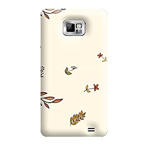 Garmor Seamless Autumn Design plastic back cover for Samsung Galaxy S2 i9100-Autumn II-3