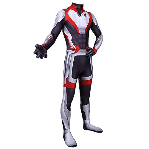 üme Erwachsene Kinder Avengers 4 Infinity War Superhelden Kostüme,Bodysuit Strumpfhosen,Cosplay Kostüm,Halloween Kostüm,Adult-XXL ()