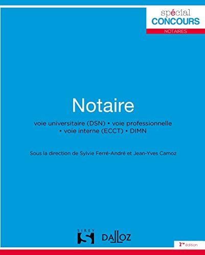 Notaire - Nouveauté