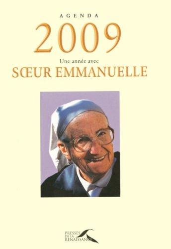 Agenda 2009 Soeur Emmanuelle