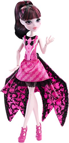 "Image of Monster High DNX65 ""Draculaura Ghoul-To-Bat"" Transformation Doll"