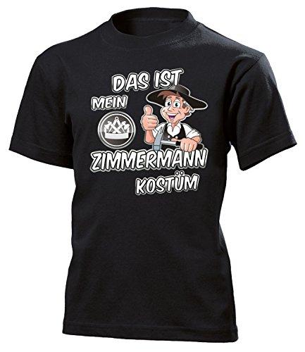 Das ist Mein Zimmermann Kostüm 4986 Kinder T-Shirt (K-SW) Gr.152 (Zimmermann Kostüme)