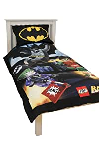 character world lego batman parure de lit 1 personne cuisine maison. Black Bedroom Furniture Sets. Home Design Ideas