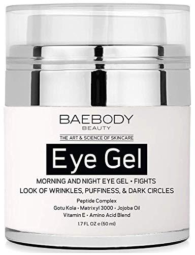 Baebody Eye Gel - Anti-Aging Augencreme – Gotu Kola, Jojoba-Öl & Vitamin E – 50 ml