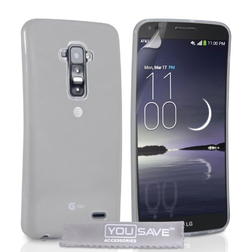 yousave-accessories-lg-g-flex-case-clear-silicone-gel-cover