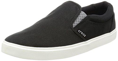 Crocs Citilnslpsnkrm, Baskets Homme Noir (Black/White)