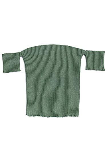Simplee Apparel - Débardeur - Femme Green Short Sleeve