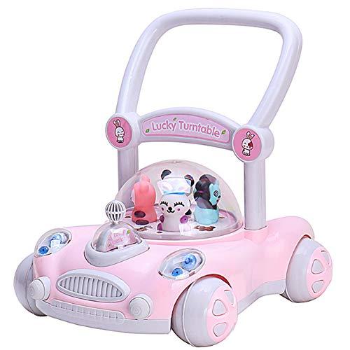 einstellbar anheben Kinderwanderer Babyspielzeug-Pink ()