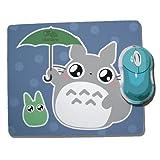 Tapis De Souris Totoro Parapluie by Fluffy Chamalow - Fabriqué en France - Chamalow Shop