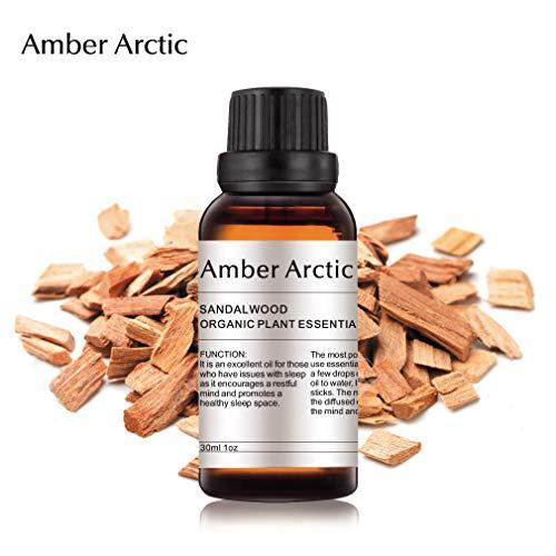 Aceite esencial de sándalo, 30 ml, aceite esencial 100% puro de mejor grado terapéutico,...