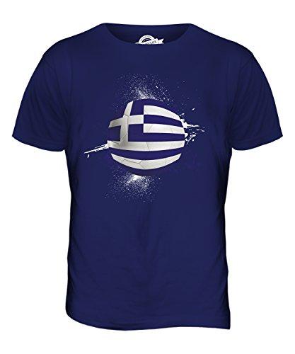 CandyMix Griechenland Fußball Herren T Shirt Navy Blau