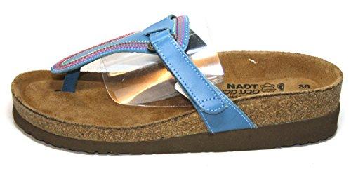 Naot Daytona Chaussures Femme mules à/séparateurs d' Blau (azure)