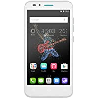 Alcatel Go Play smartphone débloqué 4G (Ecran : 5 pouces - 4 Go - 1 Go RAM - Waterproof IP67 - Android Lollipop 5.0.2) Bleu/Blanc