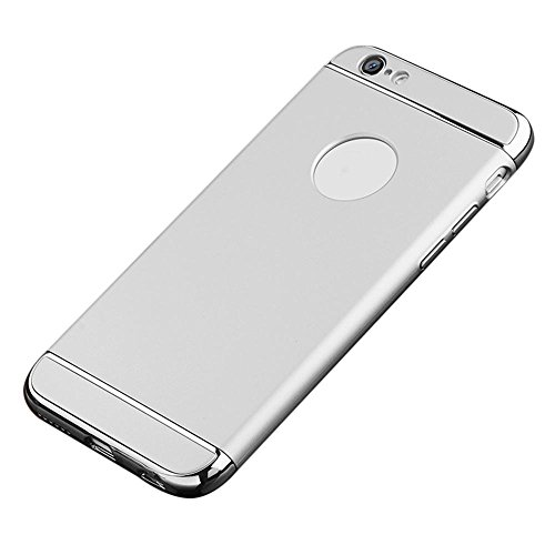 Preisvergleich Produktbild IPhone 6s/6 Hülle, 3 in 1 Ultra Dünner Harter Anti-Kratzer Stoßfestes Elektrodengestell mit Beschichteter Oberfläche Ausgezeichneter Griff-Fall für Apple IPhone 6s/6