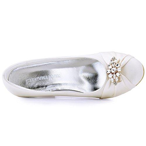 Kleider Clutch ElegantPark St眉ck Clips 2 AL Damen Strass Handtasche Glanz Gold Fashion Schuh q6Ywq