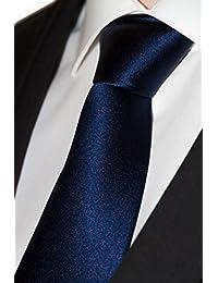 Premium Krawatte in 18 Mustern - aus 100% italienischer Seide - handgefertigt - perfekt für Feierlichkeiten und Büro - idealmaße 8cm Breite und 150cm Länge | + Bonus E-Book