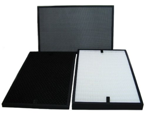 Filter-nachfüllpack (Filtersatz für Luftreiniger B-783 B-785 B-H03 (HEPA-Filter, Aktivkohlefilter, Kohlefaser- und Fotokatalysator-Filter))