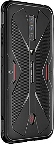 XINKOE Case for Nubia Red Magic 6, Ultra Silm Cover [Slim-Fit] [Anti-Scratch] [Shock Absorption] [Durable] for