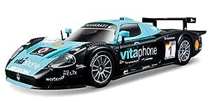 2006 Maserati MC12 [Bburago 28004], #1, Vitaphone Racing Team, Michael Bartels / Andrea Bertolini, 1:24 Die Cast