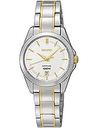 Seiko Reloj Mujer Clásico Bicolor SXDF59P1