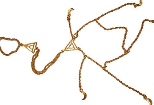 Anika Golden Bracelet / Ishqbaaz_stuffs