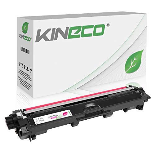 Kineco Toner kompatibel für Brother TN-245 TN245 für Brother MFC-9142CDN, Brother DCP-9022CDW, MFC-9342CDW, MFC-9332CDW, HL-3150CDW, HL-3170CDW - TN-245M - Magenta 2.200 Seiten